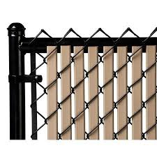 Beige 4ft Tube Slat For Chain Link Fence Walmart Com In 2020 Chain Link Fence Fence Slats Fence