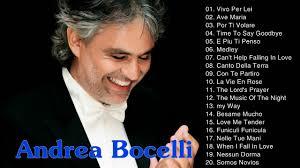 Andrea Bocelli Best Songs || Andrea Bocelli Greatest Hits Playlist ...