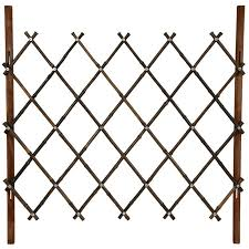 3 3 Ft X 3 3 Ft Diamond Fence Bamboo Fence Bamboo Garden Fences Oriental Furniture