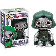 Funko Pop Marvel Dr Doom Vinyl Bobble Head Walmart Com Walmart Com
