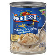 fat free new england clam chowder soup