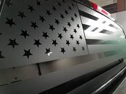 American Flag Back Window Decal Patriot99