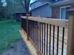 Deck Railing Posts Installation Oscarsplace Furniture Ideas Deck Railing Posts Height For Vinyl Sleeves