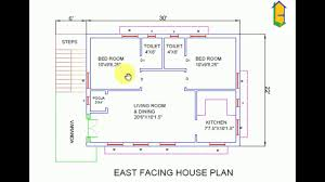 east facing house plan 22x36 as per