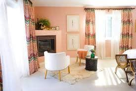 light peach curtains google search