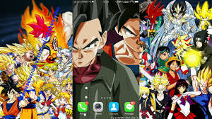 dragon ball live wallpaper android and