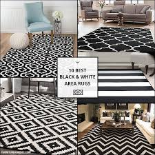 black and white area rugs in 2020
