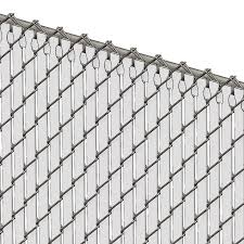 Pds Tl Chain Link Fence Slats Top Lock 6 Foot White