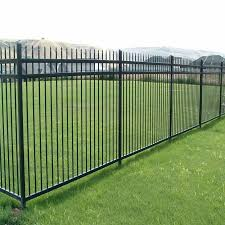 Supply Cheap Black Powder Coated Ornamental Aluminum Privacy Fence Panels Designs Diy Aluminum Fence Types Xcel