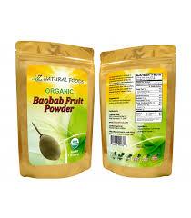 baobab fruit powder 100 pure raw