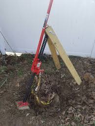 Made A 80 Small Stump Puller Homeimprovement