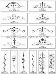 Decorative Wrought Iron Gate Toppers Scrolls And Steel Balusters Wrought Iron Wrought Iron Decor Cast Steel