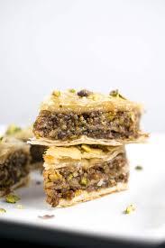vegan baklava recipe dairy free phyllo