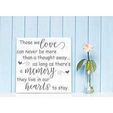 Those We Love Live In Our Hearts Memorial Vinyl Lettering Wall Decals Stickers Family Home Decor 12x12 Inch Castle Gray Walmart Com Walmart Com