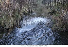 Swirling Water Pooling Downstream Creek Stock Photo (Edit Now ...
