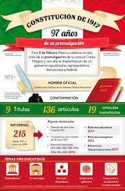 La Constitucion Mexico De 1917 Cumple 97 Anos De Su Promulgacion
