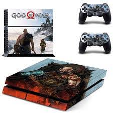 God Of War Kratos Ps4 Skin Sticker Decal Vinyl For Sony Playstation 4 Console And 2 Controllers Ps4 Skin Sticker Consoleskins Co