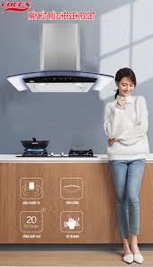 Đánh giá máy hút mùi Chefs EH R502E7: hút khỏe, kêu êm - Nhà bếp đẹp