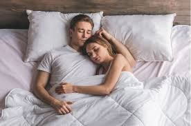 fall back in love with cuddling in bed