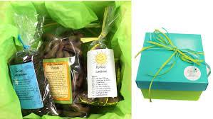 florida trio chocolate gift box hand