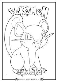 Rattata Kleurplaten Downloaden Kleurplaat Pokemon
