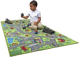 Amazon Com Kids Carpet Playmat City Life Extra Large Learn Have Fun Safe Children S Educational Road Traffic System Multi Color Activity Centerpiece Play Mat Great For Playing With Cars For Bedroom Playroom Toys