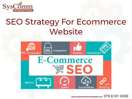 SEO Strategy For E-commerce Website