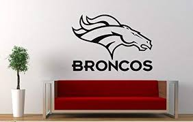 Amazon Com Andre Shop Denver Broncos Vinyl Decal Wall Sticker Nfl Emblem Football Team Logo Sport Poster Home Interior Removable Dsx6eo Home Kitchen