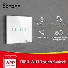 itead sonoff smart touch switch t0eu