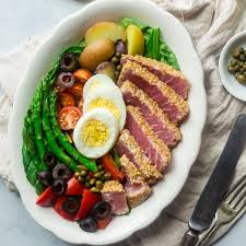 Asian Nicoise Salad - Food Faith Fitness