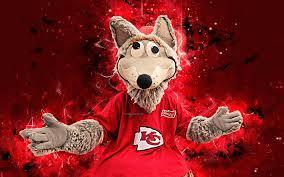 kc wolf 4k mascot kansas city chiefs