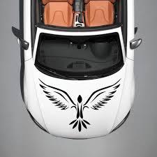 2020 Personality Car Hood Vinyl Decal Graphics Stickers Car Stickert Design Phoenix Bird Tattoo Jdm From Langru1001 8 53 Dhgate Com