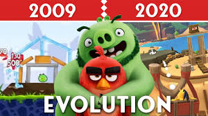 Evolution of All Angry Birds Game Graphics (2009-2020) - YouTube