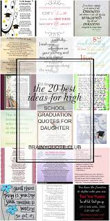 the best ideas for high school graduation quotes for daughter