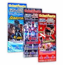 Diseno De Invitaciones Imprimibles Power Rangers 49 99 En