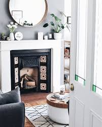20 round mirror over fireplace ideas