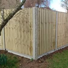 Concrete Fencing Slotted Corner Posts Free Delivery Available Bs12839