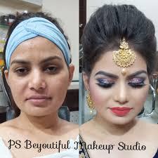 p s beyoutiful makeup studio dwarka