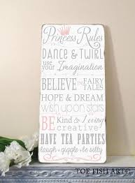 Princess Rules Nursery Decor Children S Room Rules For Etsy Playroom Signs Girl Room Art Girls Playroom