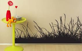 Beautiful Wispy Wild Grasses Wall Decal