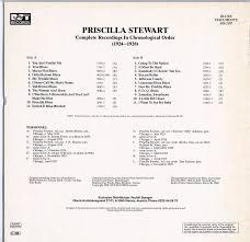 Priscilla Stewart (1924-1928) Blue Document 2107 LP – Down Home Music Store