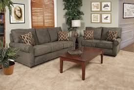 green fabric modern sofa loveseat set