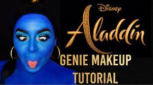 disneys aladdin genie makeup tutorial