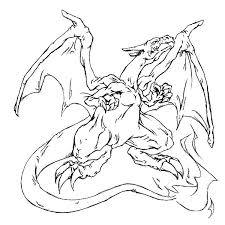 Pokemon Charizard Coloring Pages Getcoloringpages Com