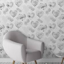 fine decor feature wall grey lilac