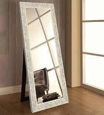 glass rectangle wall mirror in