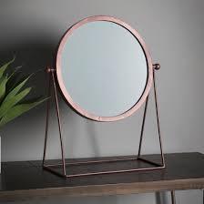 eclipse modern swivel table mirror