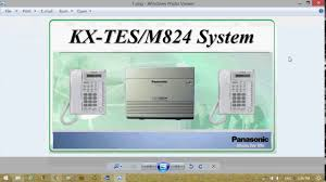 panasonic kx tes824 software setup