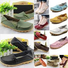 womens loafers mocassin leather flats