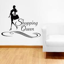 Style And Apply Shopping Queen Wall Decal Wayfair